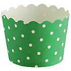 more details on Habitat Mamble Set of 12 Baking Cups Green