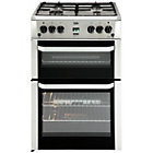more details on Beko BDVG694 Double Gas Cooker - Silver.