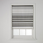 more details on ColourMatch Stripe Roller Blind - 3ft - Flint Grey/Dove Grey