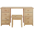 more details on New Scandinavia Dressing Table - Pine.