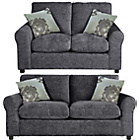 more details on Tessa Sofa Bed and Regular Sofa - Charcoal.