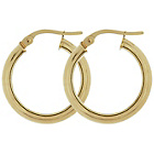 more details on Bracci 9ct Gold Creole Hoop Earrings.