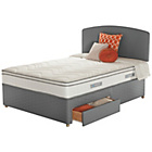 more details on Sealy Repose Cushion Top Superking 2 Drawer Divan.