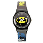 more details on Batman Black Plastic Logo Strap Watch.