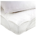 more details on 5cm Memory Foam Topper with 2 Pillows - Double.