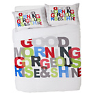 more details on Good Morning Gorgeous Bedding Set - Kingsize.
