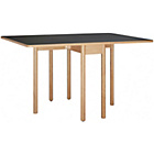 more details on Habitat Suki 2-6 Seat Black Folding Dining Table