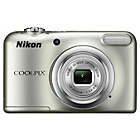 more details on Nikon Coolpix A10 16MP 5x Zoom Compact Camera - Silver.