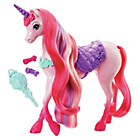 more details on Barbie Endless Hair Kingdom Unicorn Playset.