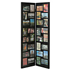 more details on Floorstanding 32 Print Aperture Photo Frame - Black.