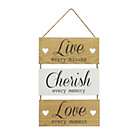 more details on Collection Wooden Hanging Sign.