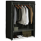 more details on HOME Double Heavy Duty Wardrobe - Black.