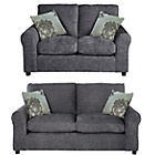 more details on Tessa Large and Regular Sofa - Charcoal.
