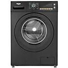 more details on Bush WMNSX814B 8KG 1400 Spin Washing Machine - Black.