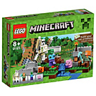more details on LEGO Minecraft The Iron Golem - 21123.