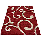 more details on Verve Swirl Rug 160x230cm - Red.