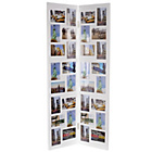 more details on Floorstanding 32 Print Aperture Photo Frame - White.