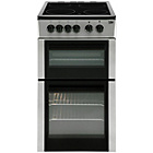 more details on Beko BDC5422 Twin Cavity Electric Cooker - Silver.