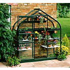 more details on Halls Supreme Wall Garden Lean-to Greenhouse with Base.