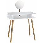 more details on Habitat Cato White Dressing Table with Mirror