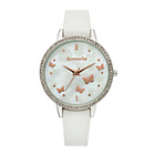 more details on Accessorize Ladies' Butterfly White Dial Strap Watch.