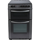 more details on Bush AE56TC Single Electric Cooker - Anthracite.