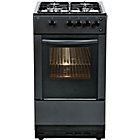 more details on Bush AG56 Single Gas Cooker - Black.