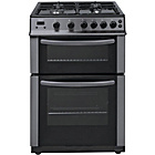 more details on Bush AG66D Double Gas Cooker - Anthracite.