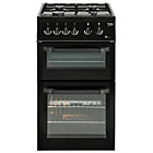 more details on Beko BDG5181 Single Gas Cooker - Black.