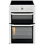 more details on Beko BDVC664 Double Electric Cooker - White/Ins/Del/Rec.