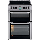 more details on Beko BDVC664 Double Electric Cooker - Silver/Ins/Del/Rec.