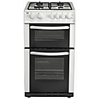 more details on Bush AG56TW Double Gas Cooker- White/Ins/Del/Rec.