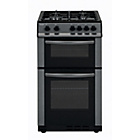 more details on Bush AG56DA Gas Cooker- Anthracite/Ins/Del/Rec.