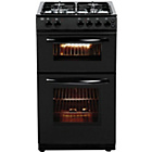 more details on Bush AG56TB Double Gas Cooker- Black.