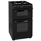 more details on Bush AG56TB Double Gas Cooker- Black/Ins/Del/Rec.