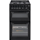 more details on Beko BDG5181 Single Gas Cooker - Black/Ins/Del/Rec.