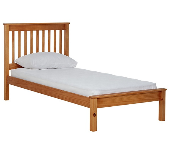 Buy Collection Aspley Single Bed Frame Oak Stain At Your Online Shop For Bed