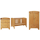 more details on BabyStart New Oxford 3 Piece Furniture Set - Pine.