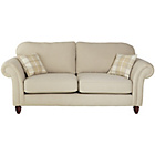 more details on Heart of House Windsor Fabric High Back Large Sofa - Cream.