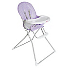 more details on Red Kite Feed Me Compact Highchair - Lilac Daisy.