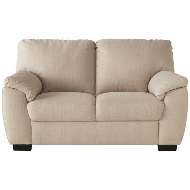 Buy Collection Milano 2 Seater Fabric Sofa Mink At Argos