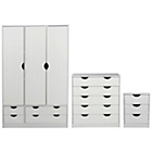 more details on Pagnell 3 Piece 3 Door Wardrobe Set.