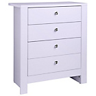 more details on Vienna 4 Drawer Chest - Soft Lilac.