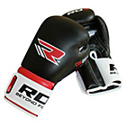 more details on RDX Atomic Synthetic Leather Boxing Gloves - 14oz