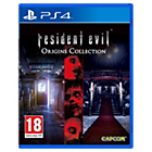 more details on Resident Evil Origins Collection - PS4.
