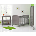 more details on Obaby Grace 3 Piece Nursery Furniture Set - Taupe Grey.