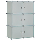 more details on 6 Cube Storage Unit - White.