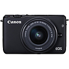 more details on Canon EOS M10 Compact System Camera with 15-45mm Lens -Black