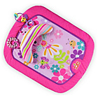 more details on Bright Starts Pretty in Pink Flutter Friends Prop Mat.