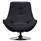 more details on Hygena Relax Fabric Chair - Black.